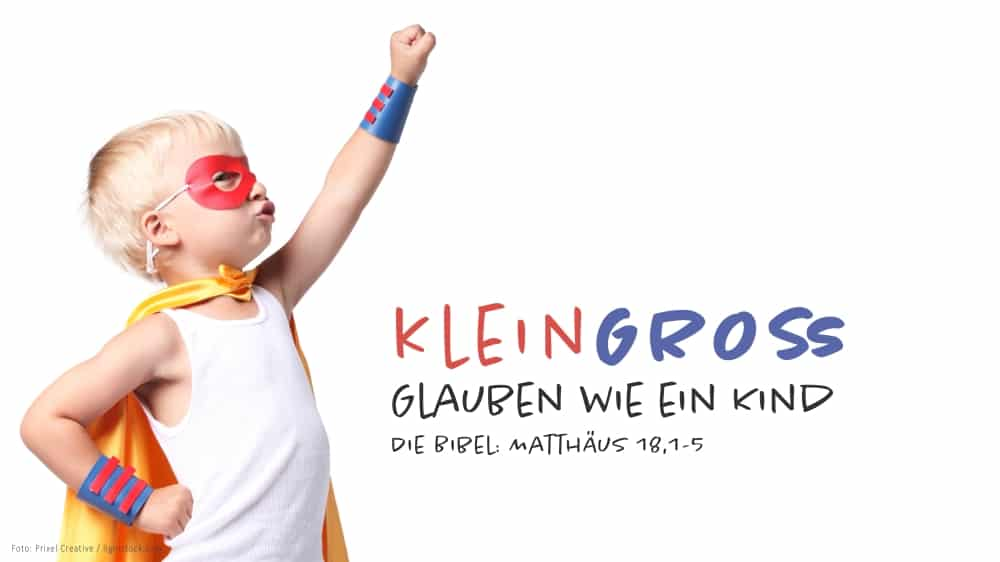 Gottesdienst & Sommerfest KleinGross – Glauben wie ein Kind
