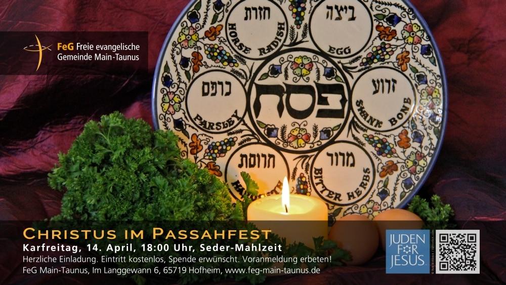 Christus im Passahfest | Sederfeier mit Juden für Jesus e.V.
