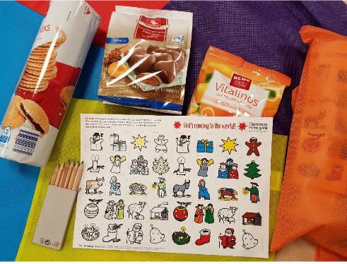 12.000 Weihnachtstaschenfür Kinder in Südeuropa